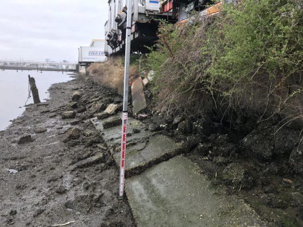 住之江区のオフィス 駐車場の路盤沈下(設計・施工)